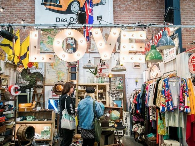 best places for antique shopping